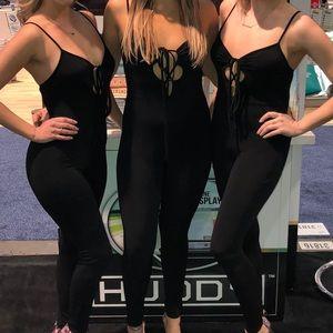 Black sexy onesie